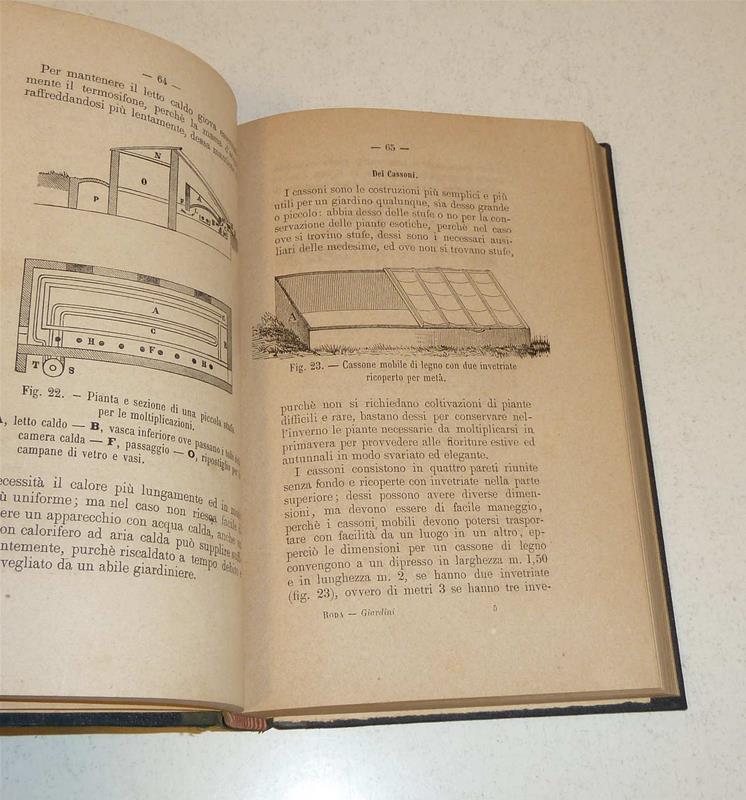 Manuale del giardiniere fioricoltore e decoratore di for Manuale progettazione giardini