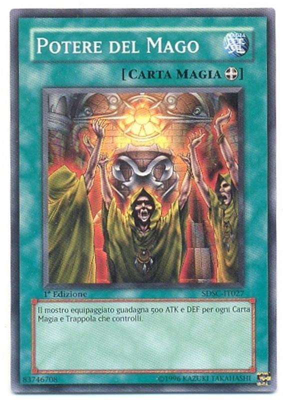 - sdsc Yu-Gi-Oh 1x unidos mago