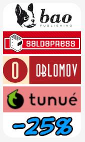 Promozione Bao-SaldaPress-Oblomov-Tunuè